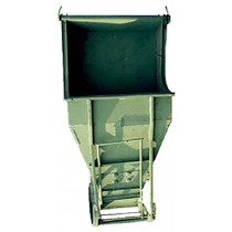 Бункер для бетона ТРМ Туфелька 1,5 куб. м.